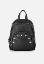 Typo - Mini Madrid backpack - black