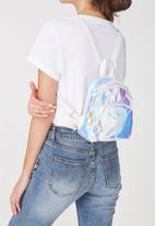 Typo - Mini madrid backpack - iridescent