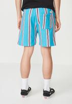Cotton On - Volley jogger short - blue