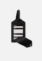 Typo - Luggage tag - black