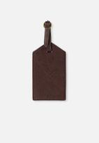 Typo - Luggage tag - brown