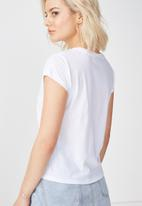 Cotton On - Tbar short sleeve T-shirt - white