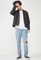 Cotton On - Oversized trucker jacket - black