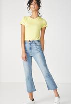Cotton On - The baby tee - yellow