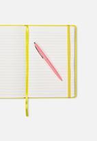 Typo - A5 buffalo journal - yellow
