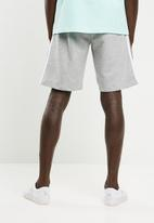 adidas Originals - Three stripe shorts - grey