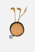 Typo - Travel earphones - tan