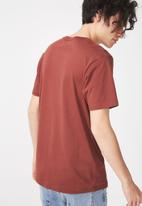 Cotton On - Tbar short sleeve tee - red