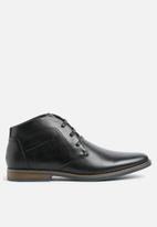 Gino Paoli - Ryan lace up boot - black