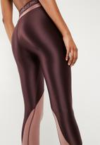 Nike - HyperCool tights - burgundy