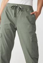 Cotton On - Rolled hem chino - khaki