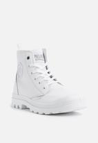 Palladium - Pampa hi zip cyber - white