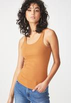 Cotton On - Everyday summer  femme tank - tan