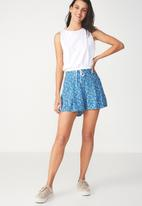 Cotton On - Maya flirty short - blue