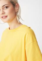 Cotton On - Paula prairie tee - yellow