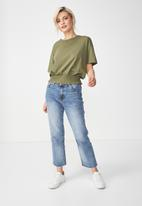Cotton On - Paula prairie tee - khaki