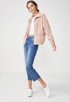 Cotton On - Stella soft military jacket - pink