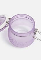 Kilner - Frosted clip jar 0.5l - purple