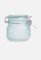 Kilner - Frosted clip jar 0.5l - blue