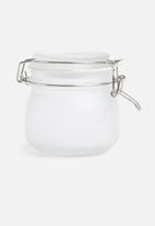Kilner - White frosted clip jar - 0.5l