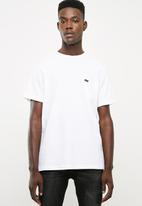 RVCA - Day shift label short sleeve T-shirt - white