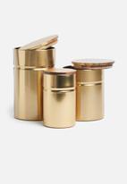 Typhoon - Modern kitchen canister - medium