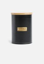 Typhoon - Ebony sugar storage - black