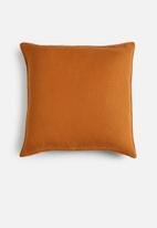 Hertex Fabrics - Miko cushion cover - marigold
