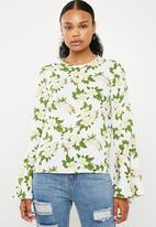 Superbalist - Blouse with flared sleeve - multi