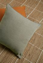 Hertex Fabrics - Miko cushion cover - stormy