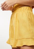 Superbalist - Soft woven short - yellow