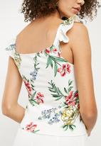 Superbalist - Button through fitted cami - multi