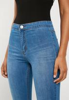 Superbalist - High rise jeggings  - blue