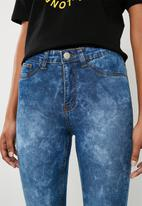 Superbalist - Upstyled jeggings - blue