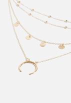 Superbalist - Winnie layered necklace - gold