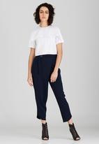 Somerset Jane - Coppelia Cropped Shirt White
