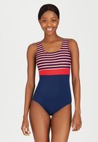 Sun Things - Sailor Stripe One-Piece Costume Multi-colour
