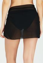 Sun Things - Wrap Skirt Black
