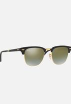 Ray-Ban - Club Master Folding Sunglasses Black