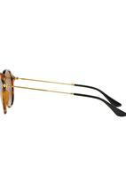 Ray-Ban - Ray-Ban Round Sunglasses Mid Brown
