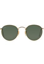 Ray-Ban - Ray-Ban® Round Frame Sunglasses Gold