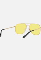 Vogue - Vogue Gigi Hadid Aviator Sunglasses Yellow