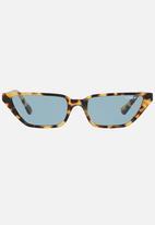Vogue - Gigi Hadid Slim Cat-Eye Sunglasses Mid Brown