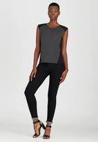Kate Jordan - Contrast Vest Grey
