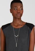 Joy Collectables - Minimal Drop Necklace Silver