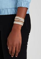 Joy Collectables - Double Wrap Bracelet Tan