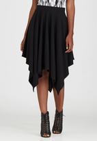 Kate Jordan - Hanky Skirt Black