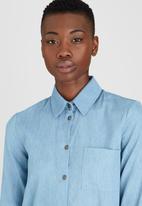 Kate Jordan - Denim Shirt Pale Blue