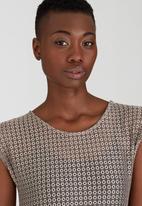 Kate Jordan - Lace Vest Stone