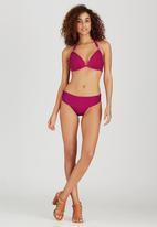Winmax - Buckle Detail Bikini Mid Purple